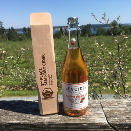 Bittersweet Takes Home a Sweet Second Place at the BC Cider Festival!