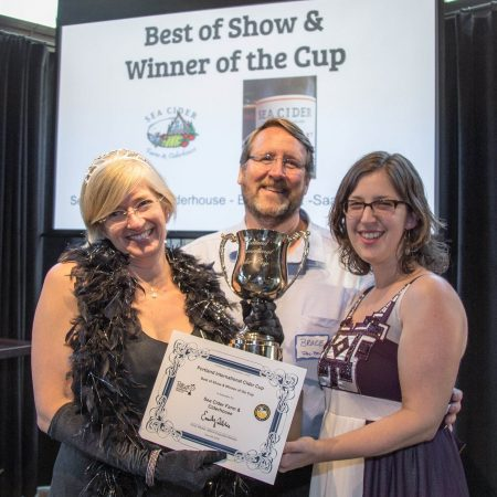 Sea Cider Wins Best of Show at Portland International Cider Cup (PICC)
