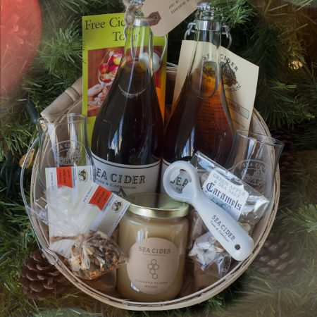 Sea Cider Holiday Gift Baskets