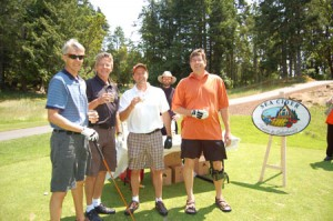 Golfers at the Peninsula Co-op Charity Golf Classic enjoyed cider and raised $40,000 for VEPC