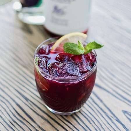 Blackberry Bonnie Non-Alcoholic Cocktail